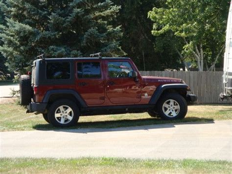 2009 4 Door Jeep Wrangler For Sale purchase used 2009 jeep wrangler 4 door rubicon in somers wisconsin united states for us
