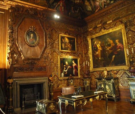 Stately Home From The Inside by Chatsworth House Edensor Derbyshire Uk