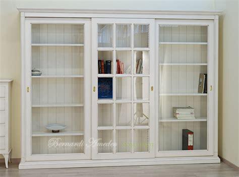 libreria con vetri librerie con ante scorrevoli 11 librerie