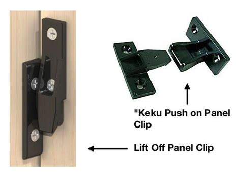 Types Of Kitchen Cabinet Hinges sa2390 push on panel clip ac sissling
