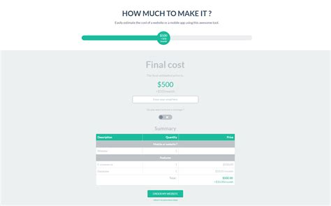 Wp Cost Estimation Payment Forms Builder By Loopus Codecanyon Wp Cost Estimation Payment Forms Builder Templates