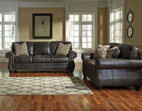 Living Rooms With Sofas by Breville 2pc Charcoal Sofa Loveseat Set Dallas Tx