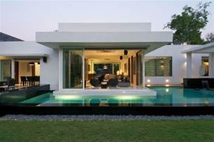 Contemporary Bungalows by Minimalist Bungalow In India Idesignarch Interior
