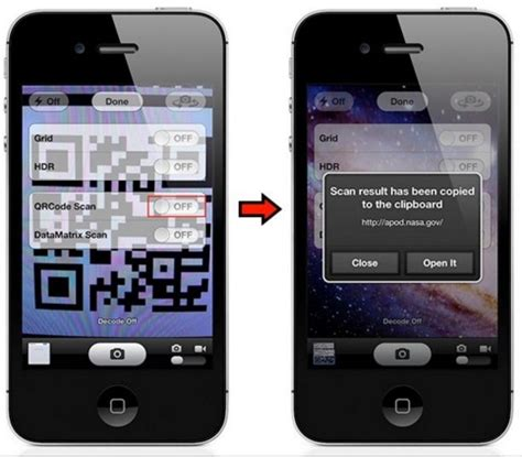 how to use stock iphone app to scan qr codes technobezz