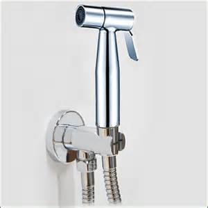 Automatic Shut Shower by Sst6000 Brushed Nickel High Pressure Bidet Shower With Auto Shut Valve