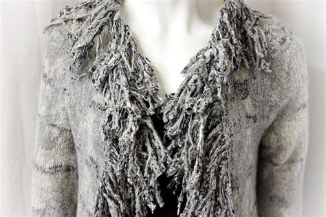 gray bang wrap new casmari cardigan gray wrap sweater cashmere long