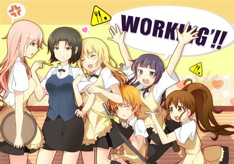 anime working working wallpaper anime manga wallpaper