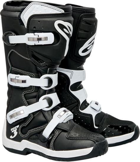 alpinestars tech 3 motocross boots alpinestars tech 3 offroad motorcycle boots black white