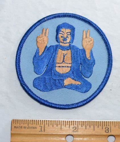 Batik Blus Vest Wk 26 33 blue buddha iron on patch embroidered patch cool hippie