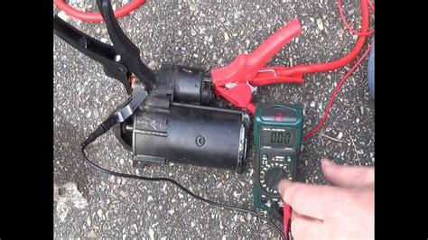 stoerungsdiagnose anlasser auto anlasser magnetschalter