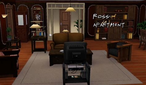 Phoebe Apartment Mod The Sims F R I E N D S Project The Apartments