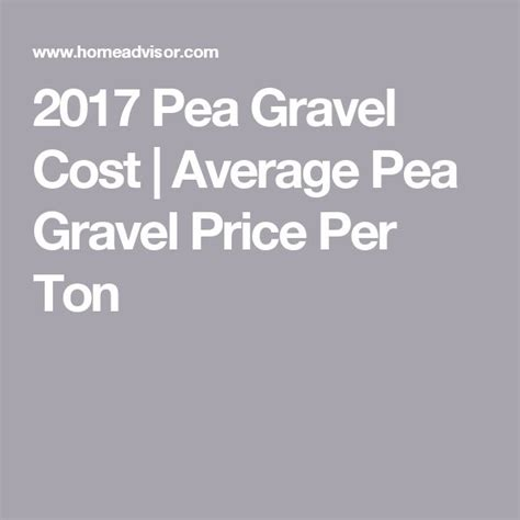 best 25 pea gravel cost ideas on cost of