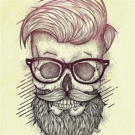 hipster pattern drawing hipster is dead drawing painting illustration digital