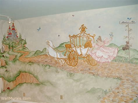 princess castle wall mural castle mural exles castle wall murals