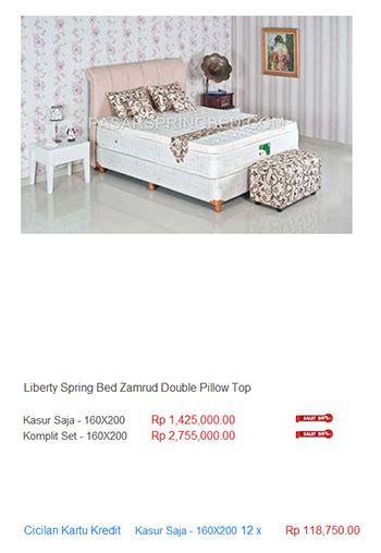 Kasur Bed Medan harga liberty bed termurah di indonesia kasur