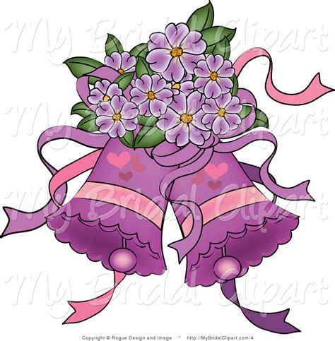 Wedding Bell Flowers by Wedding Bells And Hearts Clipart Clipart Suggest