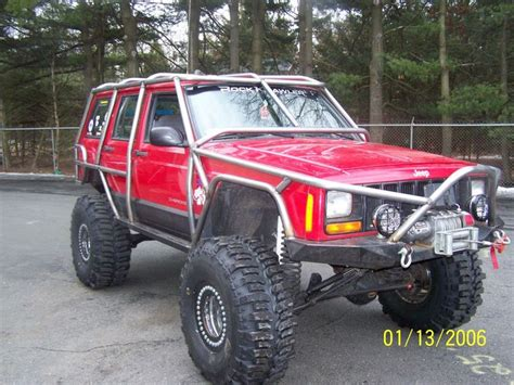 jeep xj with exo cage be prepared