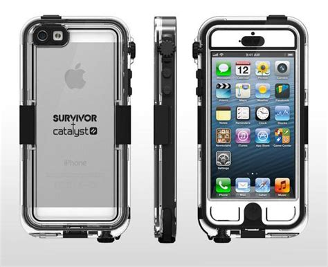 Iphone 4 4s Iphone 5 5s Griffin Survivor Slim Cover waterproof iphone 4 and iphone 5 cases recommended by mytrendyphone paperblog