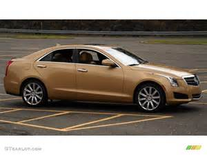 2013 Cadillac Ats 2 5 L Luxury Summer Gold Metallic 2013 Cadillac Ats 2 5l Luxury