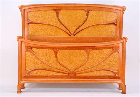 art nouveau headboard art nouveau queen bed traditional panel beds other