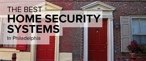 home security system philadelphia