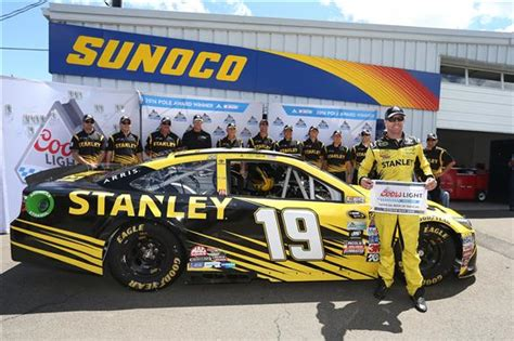 coors light pole qualifying edwards hustles to cup pole at watkins glen racingnation com