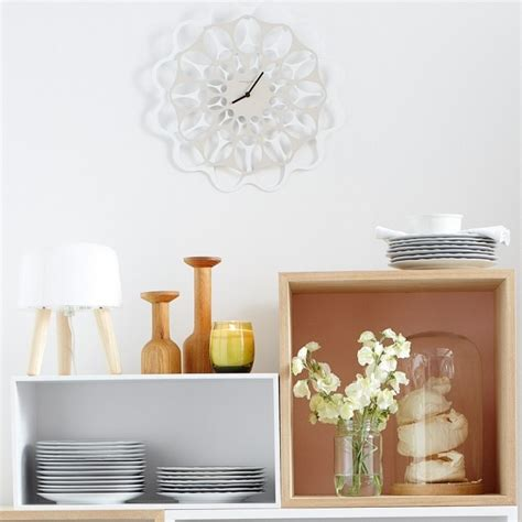 Lessiver Un Plafond Avec Un Nettoyeur Vapeur by Horloge Murale Blanche Maison Design Wiblia