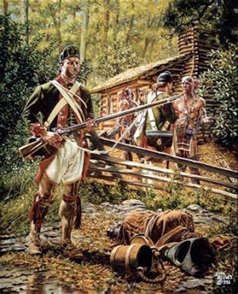 rogers rangers tomahawk indian war and on