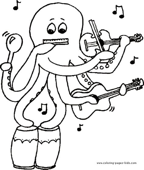 music coloring pages to print music color page coloring pages for kids miscellaneous