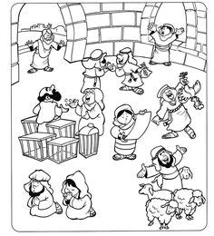coloring page jesus and the money changers 1000 images about cleansing the temple on the