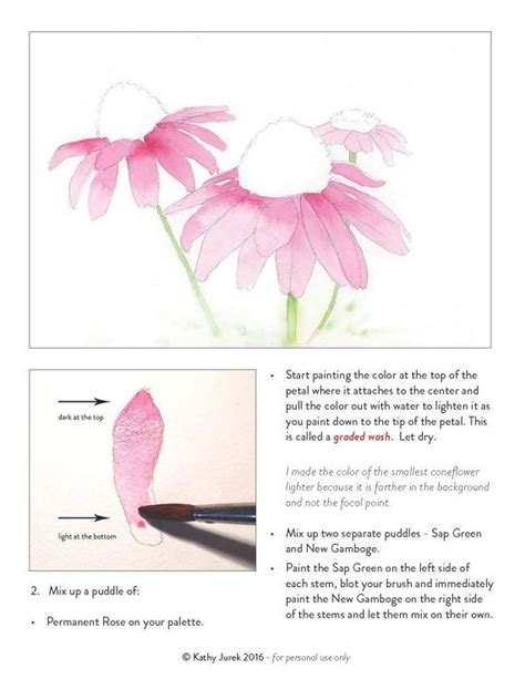 watercolor tutorial download how to paint watercolor flowers tutorial how to paint