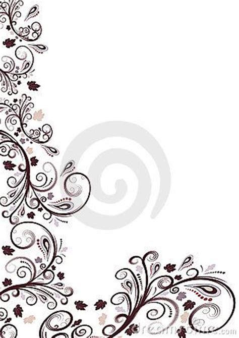 design flower side borders for poster flower vector floral border design
