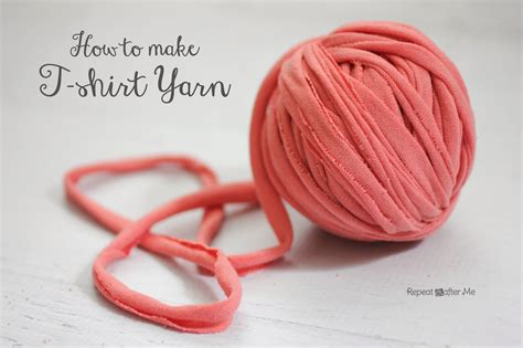 with tshirt yarn repeat crafter me how to make t shirt yarn