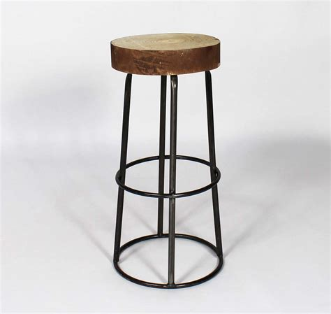 Assise Tabouret Bar by Tabouret De Bar Avec Assise Tronc D Arbre