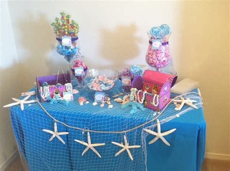 under the sea candy table 22 best images about under the sea candy buffet on