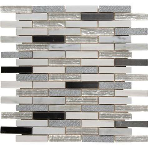 Home Depot Brick Tile by Ms International Crest Brick 12 In X 12 In X 8 Mm