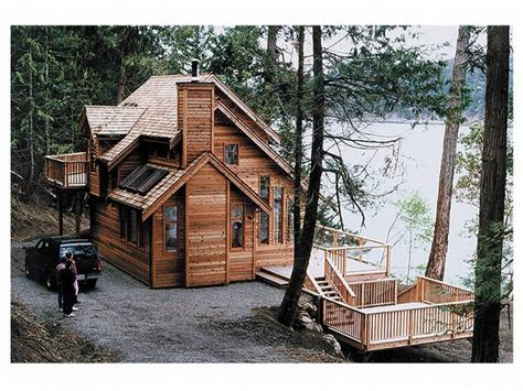 Cabin Designs Plans | cool lake house designs small lake cottage house plans