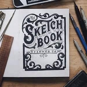 instagram foto vantypographyinspired this sketchbook