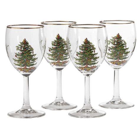 spoce christmas tree casual glassware