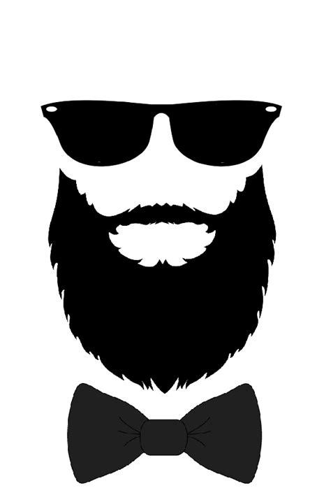 the gallery for gt beard logo white beard logo