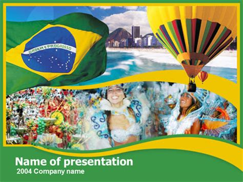 powerpoint 2010 themes brazil brazil presentation template for powerpoint and keynote