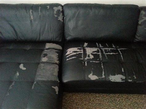 faux leather couch repair archive black faux leather 3 4 seater corner couch