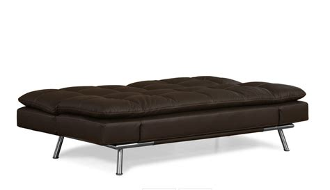 bruno leather convertible sofa bed sofa beds