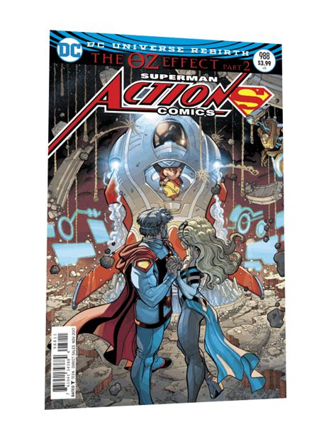 comics superman the oz effect deluxe edition comics lenticular covers confirm mister oz identity
