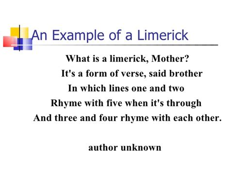 limerick template rhyme rhythm and alliteration