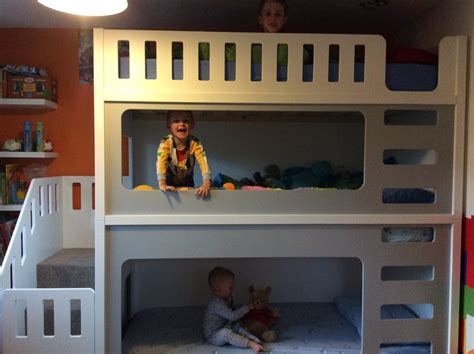 triple bunk bed uk funtime triple bunk beds single only bunk beds kids