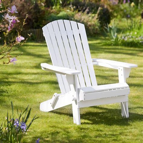 White Adirondack Chair by Adirondack Chair In White