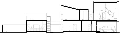 plan elevation section modern house modern house plan section elevation modern house