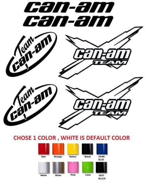 Can Am Stickers