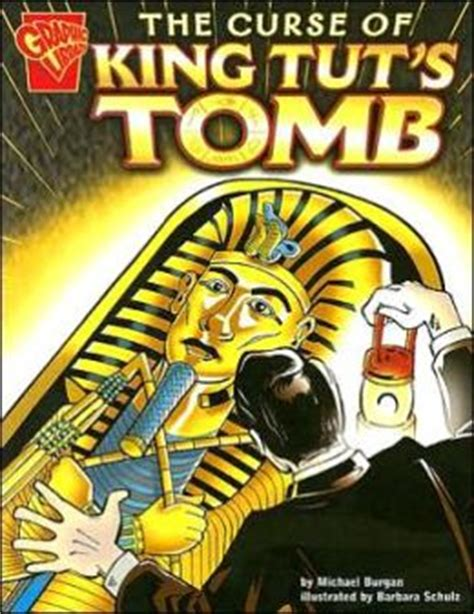 the curse of books the curse of king tut s by michael burgan